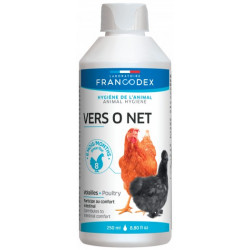 francodex FR-174206 Food supplement to o net, 250ml bottle for poultry Food and drink