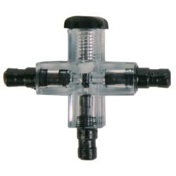 Conector transversal con válvula de aire comprimido Tuberías, válvulas, válvulas, válvulas, válvulas Trixie TR-8040