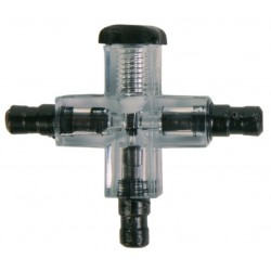 Cross connector with air-fish valve Piping, valves, valves, valves Trixie TR-8040