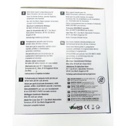 ZOOMED ZO-387051 lF-36E combo dome double nano lamp holder 80 w max total for terrarium lighting