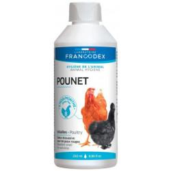 francodex Produkt gegen rote Läuse, Hühner. 250 ML Flasche für Geflügel FR-174210 Niedriger Innenhof