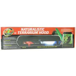 ZOOMED support de lampe double naturalistic terrarium hood 2x60 w max LF-55E ZO-387108 éclairage