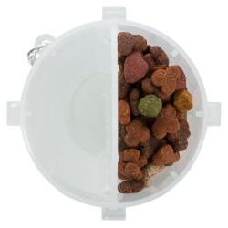 TR-25019 Trixie Recipientes de comida y agua para perros nómadas Dispensador de agua, comida