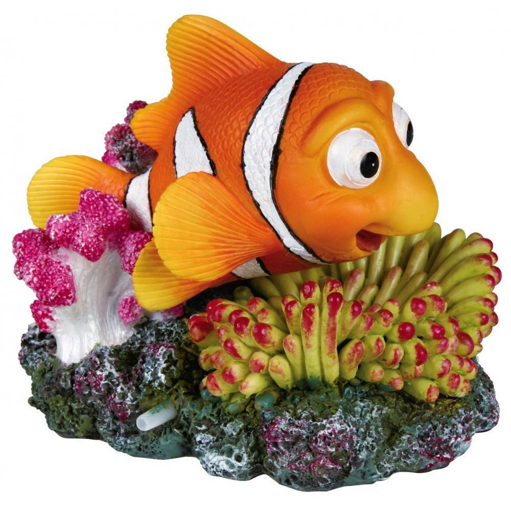 TR-8717 Trixie Peces payaso y coral con salida de aire para peces de acuario Decoración y otros