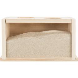 TR-63004 Trixie Baño de arena de madera para roedores Rongeurs