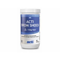 Générique  brome choc poudre 1 kg ACT-500-0571 produit de traitement SPA