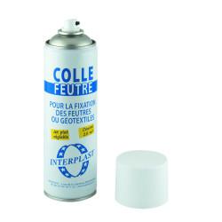SCOLGBOMB Interplast Pegamento en aerosol para fieltro o revestimiento geotextil de piscinas 500ML. Revestimiento de piscina
