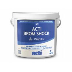 Générique  Brome choc poudre 5 kg ACT-500-7009 produit de traitement SPA