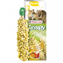 Friandises en sticks (2x55g) pop-corn et miel . pour hamsters et rat . VS-462067 versele-laga