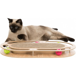Trixie TR-48020 games Scratch plate wooden frame for cats Griffoirs