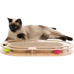 Trixie spiele Kratzplatte Holzrahmen für Katzen TR-48020 Kratzer und Schaber