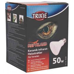 Trixie Emetteur céramique de chauffage infrarouge 50 W pour reptiles TR-76100 Matériel chauffant
