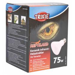 TR-76101 Trixie Emisor cerámico de calefacción infrarroja de 75 W para reptiles Equipo de calefacción