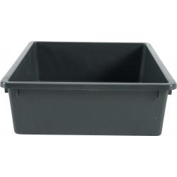 ZO-590100gri zolux Eco Pequeña caja de arena 28,5 x 38,5 x 9,5 cm- GRIS Cajas de arena