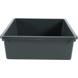 zolux ZO-590100gri Eco Small litter box 28,5 x 38,5 x 9,5 cm- GREY Litter boxes