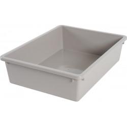 ZO-590100tau zolux Eco Pequeña caja de arena 28,5 x 38,5 x 9,5 cm- Topo Cajas de arena