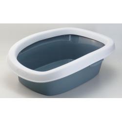 Stefanplast Sprint-Wurfkiste 10. Größe 31 x 43 x 14 Std. Farbe graublau. ZO-590105bac Abfallbehälter