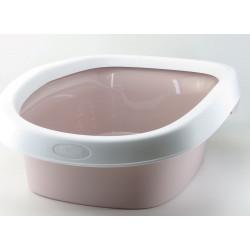 ZO-590106gro stefanplast Caja de arena Sprint 10. tamaño 31 x 43 x 14 h. color rosa. Cajas de arena