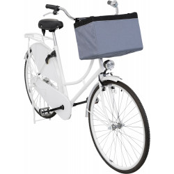 Trixie Bike basket box, for handlebars, size 38 x 25 x 25 cm. for small dogs max 6 KG Bicycle basket