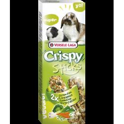versele-laga Friandises en sticks (2x55g) legumes .pour lapins et cobayes VS-462058 Snacks et complément
