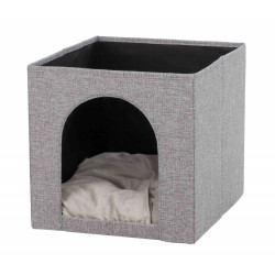 Trixie TR-44087 Ella Cat Shelter, Ella Cozy Shelter for Shelves Sleeping