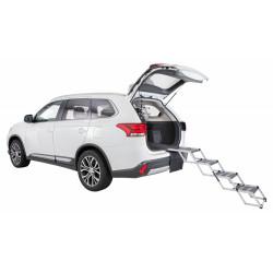 Trixie Aluminium/TPR 4-Stufen-Faltgeländer für Hunde TR-39378 Fahrzeugausstattung
