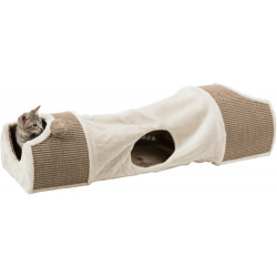 Trixie TR-43004 Cat scratching tunnel for cats, size: 110 × 30 × 38 cm Griffoirs