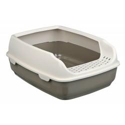 Bac à litière Delio beige pour chat accessoire litière Trixie TR-40393