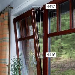 Grille de protection pour fenêtre (oscillo-battant) (coté) Sécurité Trixie TR-4416
