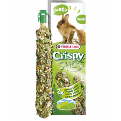 versele-laga Candy sticks (2x70g) dandelions and green vegetables. for pet rabbits and guinea pigs Friandise