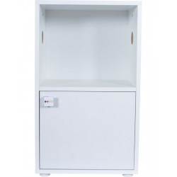 zolux Cage cabinet Rody3. size 28.4 x 45 x 77 cm. color white. for rodents Cage