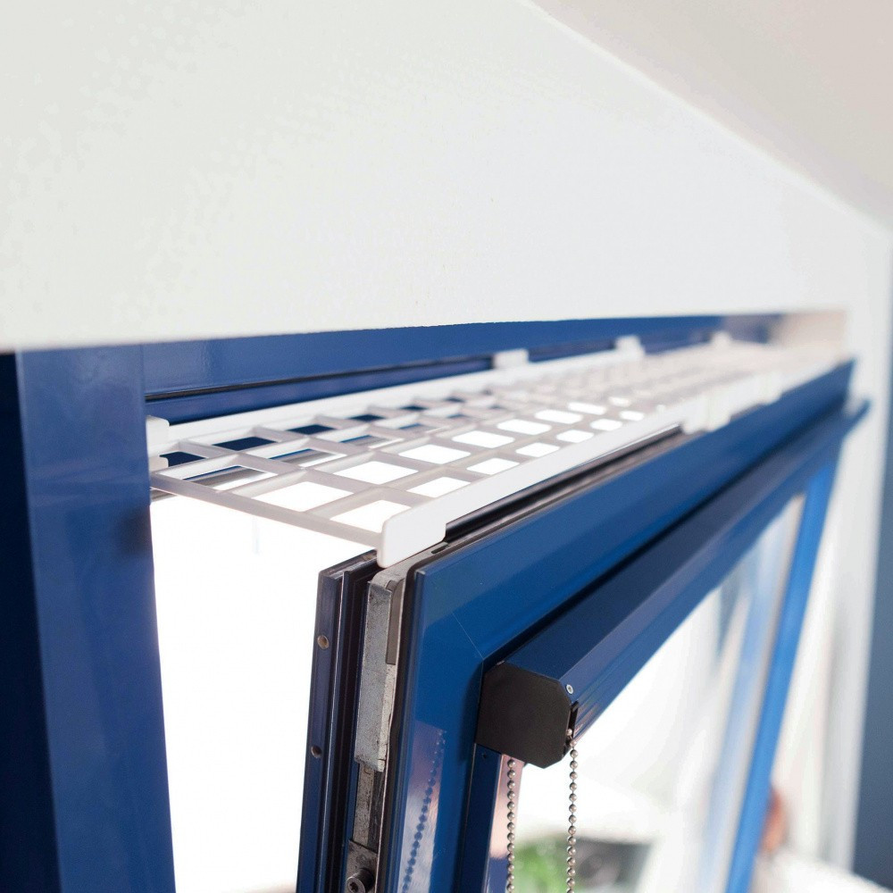 une Grille de protection pour fenêtre (oscillo-battant dessus), extensible Sécurité Trixie TR-44182