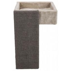 Trixie Lit pour étagères avec griffoir pour chats TR-44085 Couchage