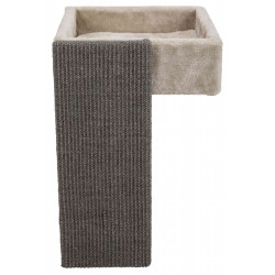 Trixie Shelf bed with cat scratching post Sleeping