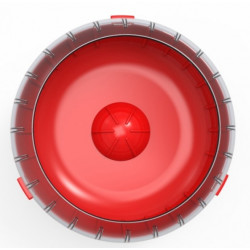 zolux ZO-206035 1 Silent exercise wheel for Rody3 cage . colour red. size ø 14 cm x 5 cm . for rodents. Games, toys, activities