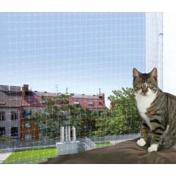 Raambeschermingsnet, 2 x 1,5 m, transparant, Trixie TR-44303 Beveiliging