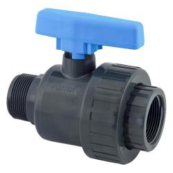 Plimat ein Ein-Gewinde-Kugelhahn, MF 1/2 VSU1/2MF Ventil