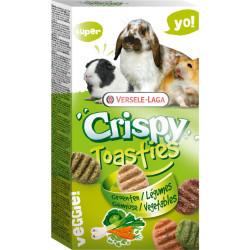 versele-laga Gemüse-Knusperkekse 150g für Kaninchen und Nagetiere VS-462005 Snacks und Nahrungsergänzungsmittel