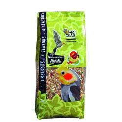 Vadigran VA-454010 Graines pour OISEAUX prenium vita grande perruche 1Kg Food and drink