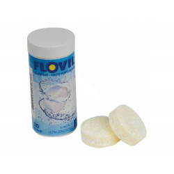 flovil SC-CRT-500-0002 FLOVIL Tubes of 6 tablets for swimming pool or spa Treatment product
