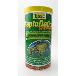 Tetra naturfutter für alle Wasserschildkröten getrocknete ganze Garnelen 1000ml/100g ZO-377336 Essen und Trinken