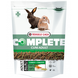versele-laga high-fibre all-in-one extruded feed 500 G for adult (dwarf) rabbits Nourriture lapin