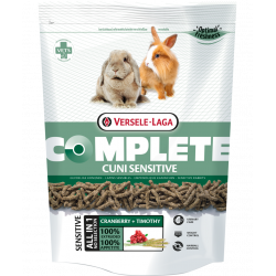versele-laga easily digestible all-in-one extruded feed 500 G for sensitive (dwarf) rabbits Nourriture lapin