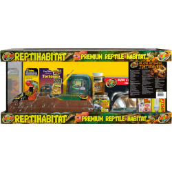 ZOOMED Kit pour tortues terrestres 76 x 30 x 30 cm ZO-387879 Reptiles amphibiens