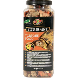 ZOOMED ZO-387370 Gourmet food for land turtles 382g Food and drink