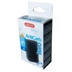 zolux Cartouche mousse charbon actif pour filtre iseo ZO-329743 Masses filtrantes, accessoires