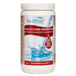 lo-chlor Multi Stain Remover Designed to remove stains such as iron, copper, manganese, tannin and cobalt Treatment product
