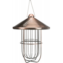 Trixie Feeder ball of grease copper plated . ø 19 x 24 cm. birds. Outdoor feeders