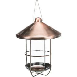 Trixie Outdoor copper-plated feeder. 500ml / ø 19 cm. birds. Outdoor feeders