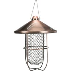 Trixie Peanut dispenser, copper-plated. 700 ml / ø 19 cm. birds. Outdoor feeders